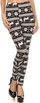 LA12ST Women's Black Tribal Sign Leggings Tights Stretch Quality Brand