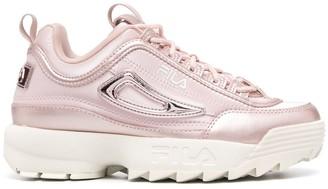 Fila Disruptor metallic sneakers