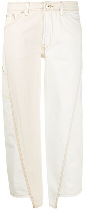 Lanvin Panelled Cropped Trousers