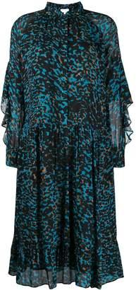 Lala Berlin animal print shirt dress
