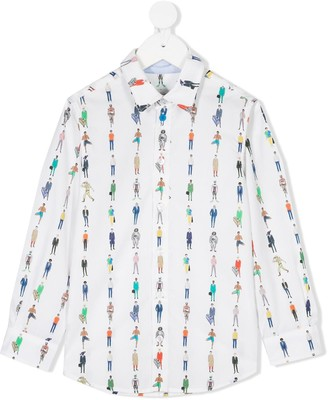 Paul Smith People-Print Shirt
