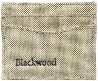 Blackwood Natural Ayous Wood Leather Card Holder
