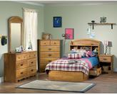 South Shore Prairie 1-Drawer Nightstand in Country Pine