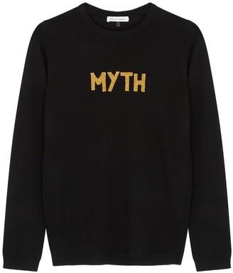 Bella Freud Myth black wool jumper