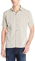 Van Heusen Men's Short-Sleeve Plaid Shirt