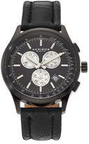Akribos XXIV Men's Leather Chronograph Swiss Watch