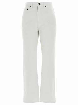 The Row Christie Wide Leg Jeans