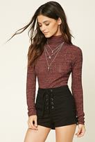 Forever 21 Marled Turtleneck Sweater