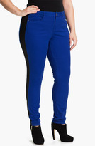 Mynt 1792 'Empire' Skinny Tuxedo Jeans (Plus)
