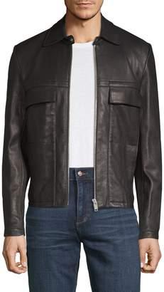 Maison Margiela L-Zip Leather Jacket