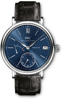 IWC SCHAFFHAUSEN Stainless Steel Portofino Hand-Wound Eight Days Watch 45mm