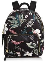 Kate Spade Watson Lane Botanical Small Hartley Nylon Backpack