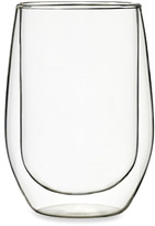 Luigi Bormioli Duos 6-Ounce Stemless White Wine Glass - Set of 2