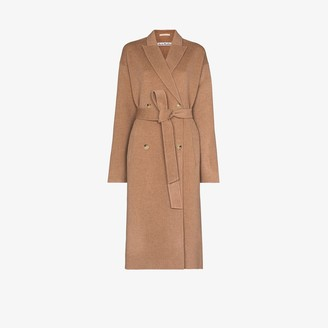 Acne Studios Owanne double-breasted wool coat