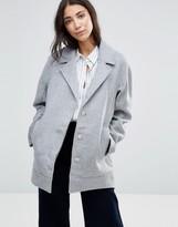 Parka London Agda Wool Pea Coat
