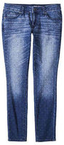 Merona NEW Women's Skinny Denim Jean Modern Fit Polka Dot Print 2 4 6 8 10 12