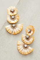 Suzanna Dai Raffia Palm Drop Earrings