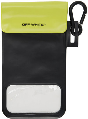 Off-White Black and Clear Waterproof Phone Case