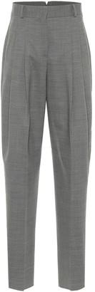 Salvatore Ferragamo High-rise stretch-wool pants