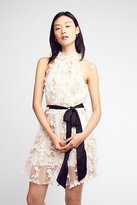 Backstage Ruffle Up Mini Dress by at Free People