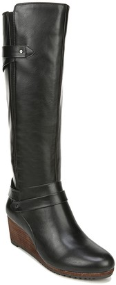 Dr. Scholl's High-Shaft Wedge Boots - Check ItWide Calf