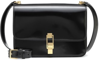 Saint Laurent Carre patent leather shoulder bag