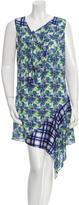 Roberto Cavalli Floral Print Silk Dress w/ Tags