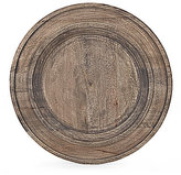 Southern Living Rustic Mango Wood Charger Plate