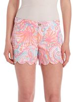 Lilly Pulitzer Pout Too Much Bubbly Buttercup Shorts