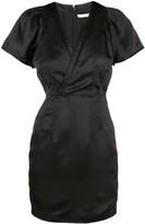 Derek Lam 10 Crosby v-neck satin mini dress