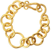 Stephanie Kantis Coronation 24k Gold Plate Large Bracelet