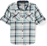 Lucky Brand Big Boys 8-20 Plaid Long-Sleeve Shirt