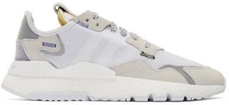 adidas White 3M Nite Jogger Sneakers