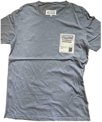 Maison Margiela Grey Cotton T-shirts