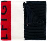 Tommy Hilfiger Junior logo intarsia scarf