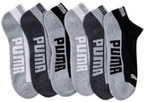 Puma 1/2 Terry Low Cut Socks - Pack of 6