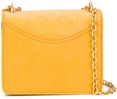 Tory Burch box crossbody bag - women - Leather - One Size