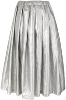 Comme des Garcons midi pleated skirt