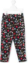 MonnaLisa floral print skinny trousers