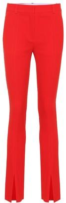 Victoria Beckham Mid-rise cady skinny pants