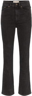 Jeanerica High-Waisted Straight Leg Jeans