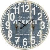 Casa Uno At the Beach Wall Clock, 60cm