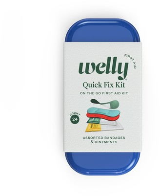 Welly Quick Fix Kit First Aid On The Go - 24 count