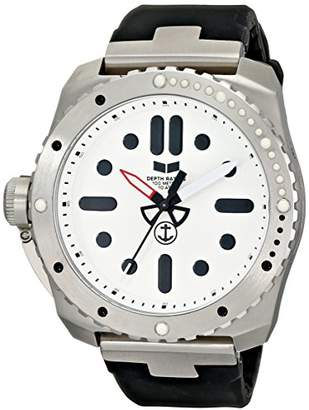 "Vestal Men's RSD3S01 ""Restrictor"" Stainless Steel and Silicone Watch"