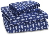 Sky Indigo Patchwork Sheet Set, King - 100% Exclusive