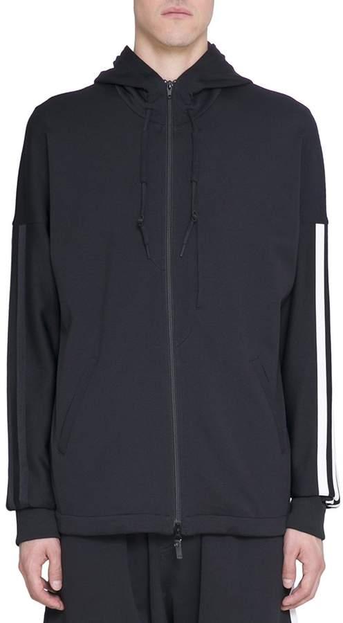 Y-3 Black Zipped Hoodie