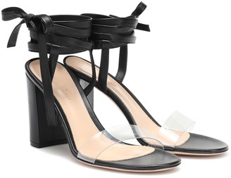 Gianvito Rossi Exclusive to Mytheresa Flavia 85 leather sandals