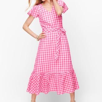 Talbots Gingham Maxi Dress