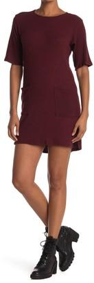 Dee Elly Patch Pocket T-Shirt Dress
