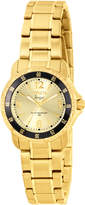 Invicta 0550 Gold-Tone & Black Watch